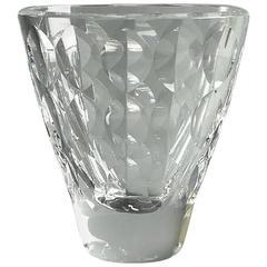 Glass Vase by Ingeborg Lundin for Orrefors