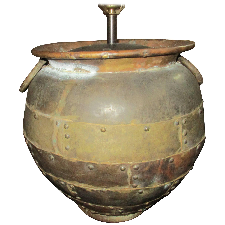 Chapman Vintage Massive Brass Lamp