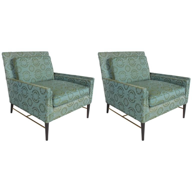 Pair of Paul McObb for Calvin Lounge Chairs For Sale