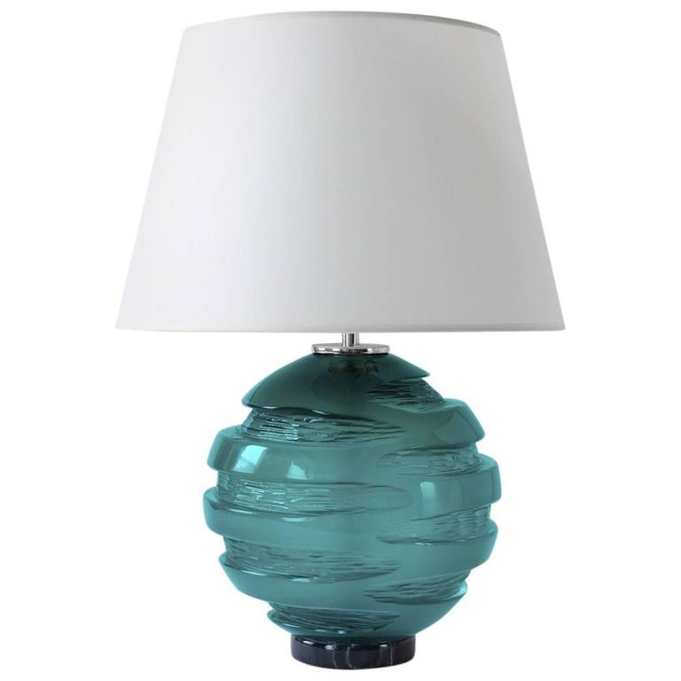 Handblown Glass Gemini Table Lamp, ANDREW HUGHES