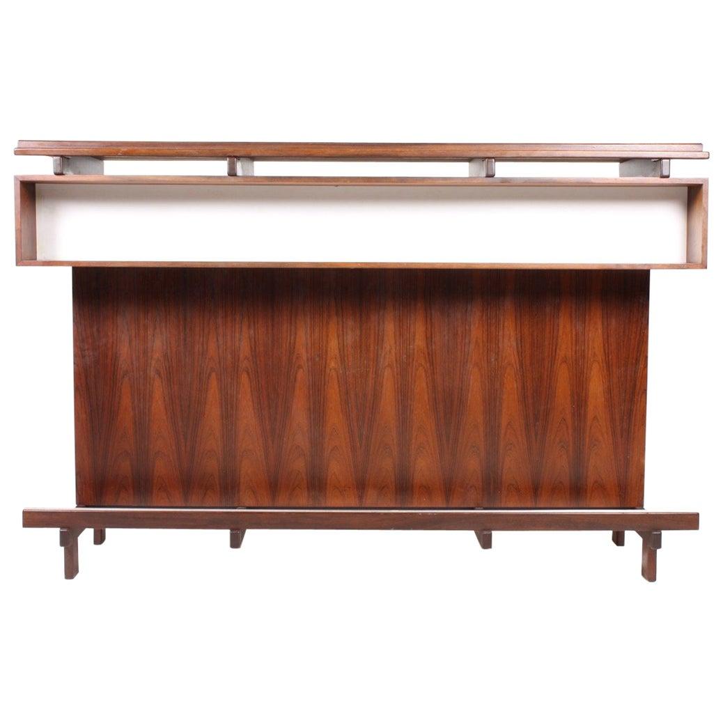 Danish Rosewood Dry Bar, 1960s