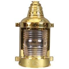 Solid Brass Ship's Masthead Lantern