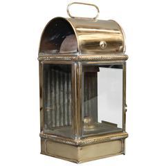 Solid Brass Yacht Cabin Lantern