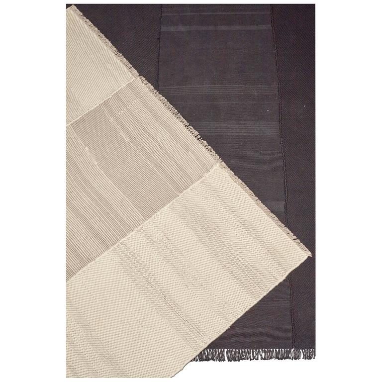 Whipstitch Rug by Dane Co. - Cotton and Silk