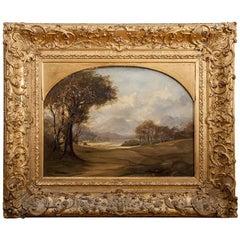19th Century British School Landscape Painting