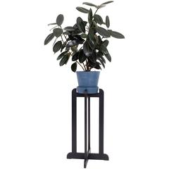QE2 Plant Stand in Ebonized Maple