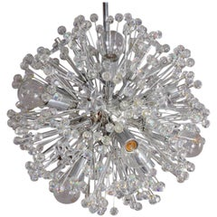 Charming Small Snowball Ceiling Lamp by Emil Stejnar, Vienna, 1950