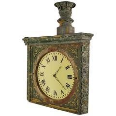 Dutch 19th Century Rare Station Clock