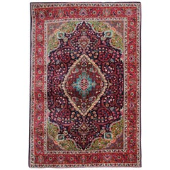 Vintage Persian Rugs, Traditional Carpet from Kashan