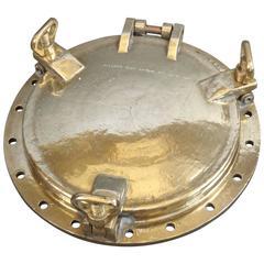 Solid Brass Ship's Porthole