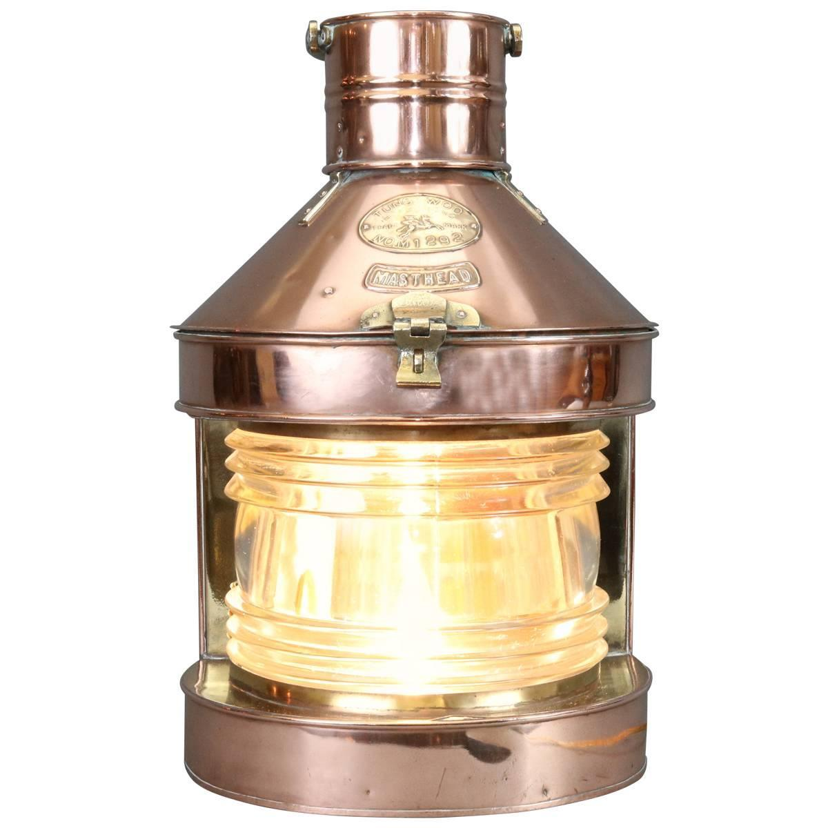 superb copper exterior lighting 6 copper outdoor.  Exterior Polished Copper Masthead Shipu0027s Lantern By Tung Woo With Superb Exterior Lighting 6 Outdoor