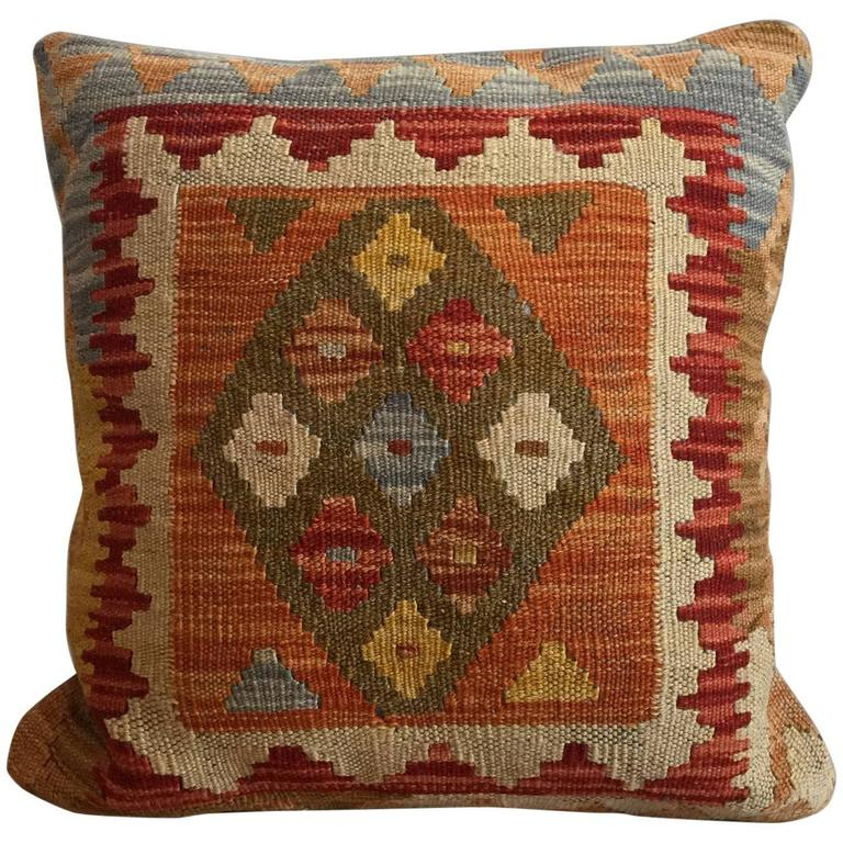 Decorative Pillows, Vintage French Style Aubusson Cushion Covers