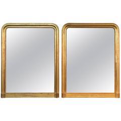 Striking Pair of Louis Philippe Mirrors
