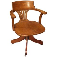 early 20th century office chairs and desk chairs - 90 for sale at