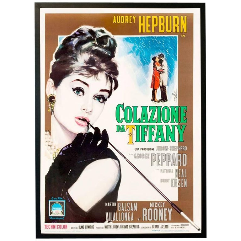 Breakfast At Tiffany's, 1961 For Sale