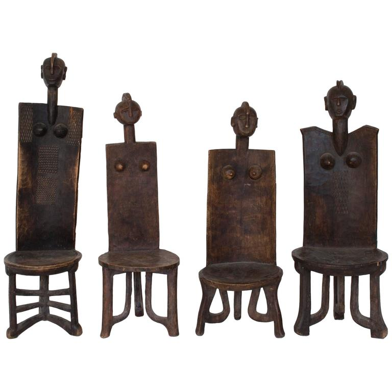 African Mossi Chairs 1