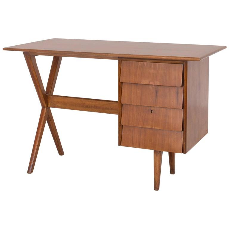 Mid-Century Desk in the Style of Ico Parisi