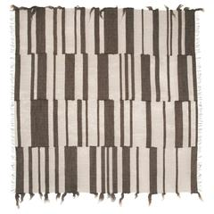 Atlas 620, Handwoven Art Textile of Fine Nickel Wire and Gotland Lambswool