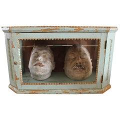 Cast Gypsum Death Masks