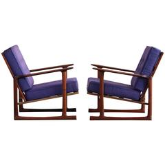 Lounge Chairs by Ib Kofod Larsen for Selig