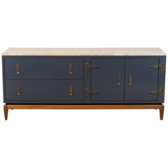 Arcadia Cabinet with Stone Top by Lawson-Fenning