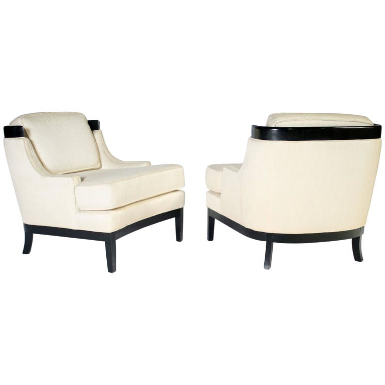 Pair of Erwin Lambeth Lounge Chairs for Tomlinson 1