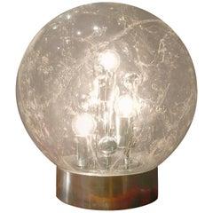 1970s Handblown Glass Sphere or Globe by Doria