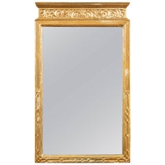 Neoclassic Giltwood Frame Mirror, circa 1920s