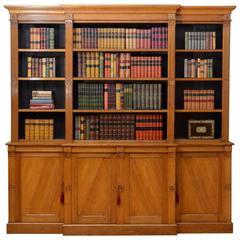 Victorian Reformed Gothic Oak Bookcase