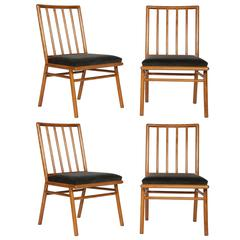 Set of Four Chairs by T.H. Robsjohn-Gibbings