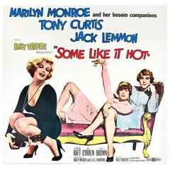 """Some Like It Hot"" Film Poster, 1959"