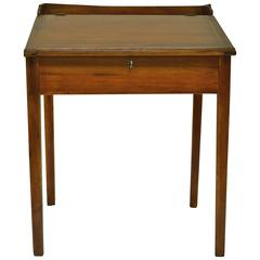 Pine and Poplar Schoolmaster's Desk