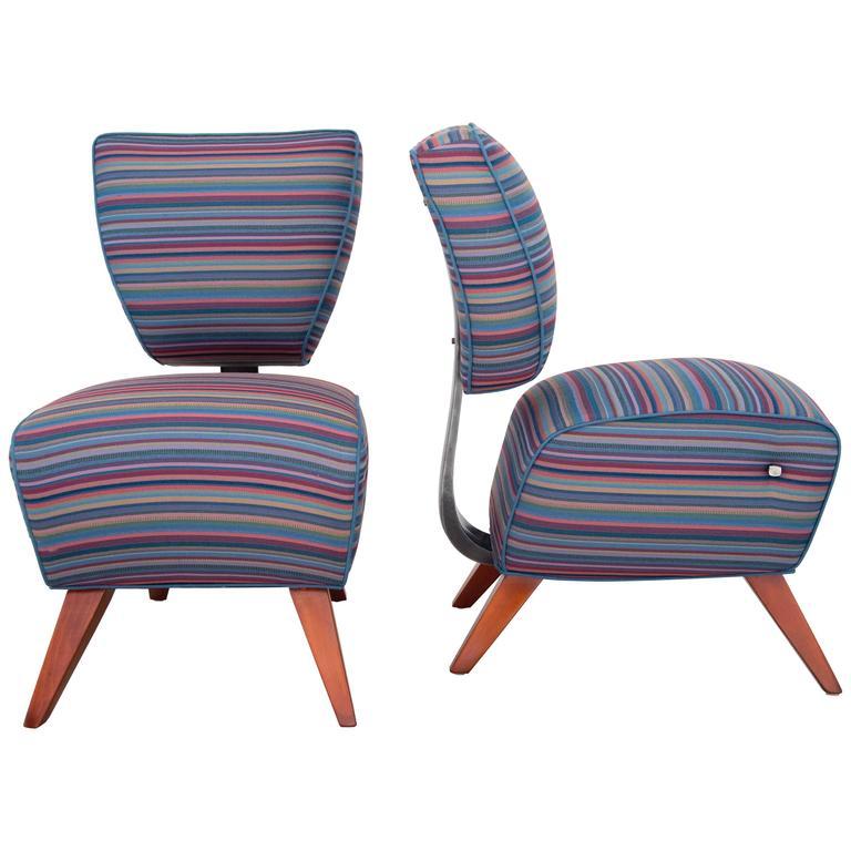 "Jordan Mozer Studios Barney's ""Fred's"" Dining Chairs 1"