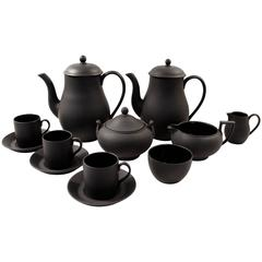 Wedgwood Basalt Tea Set