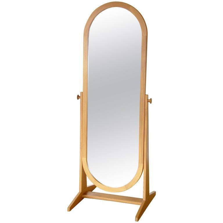 Pedersen & Hansen Teak Cheval Mirror 1