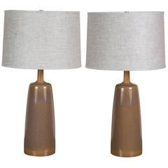 Pair of Laurel Lamps by Stone and Sawyer for Lawson-Fenning