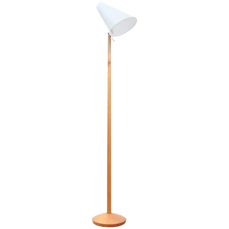 Mid-Century Modern Small Floor Lamp by Uno & Osten Kristiansson for Luxus