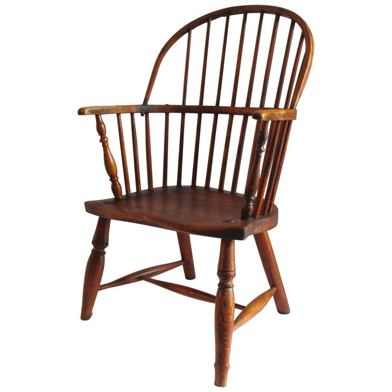 Early 18th Century English Windsor Chair  sc 1 st  1stDibs & 18th Century Extended Arm Windsor Rocking Chair For Sale at 1stdibs