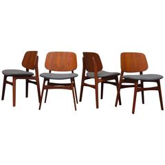 Børge Mogensen Eight Dining Chairs