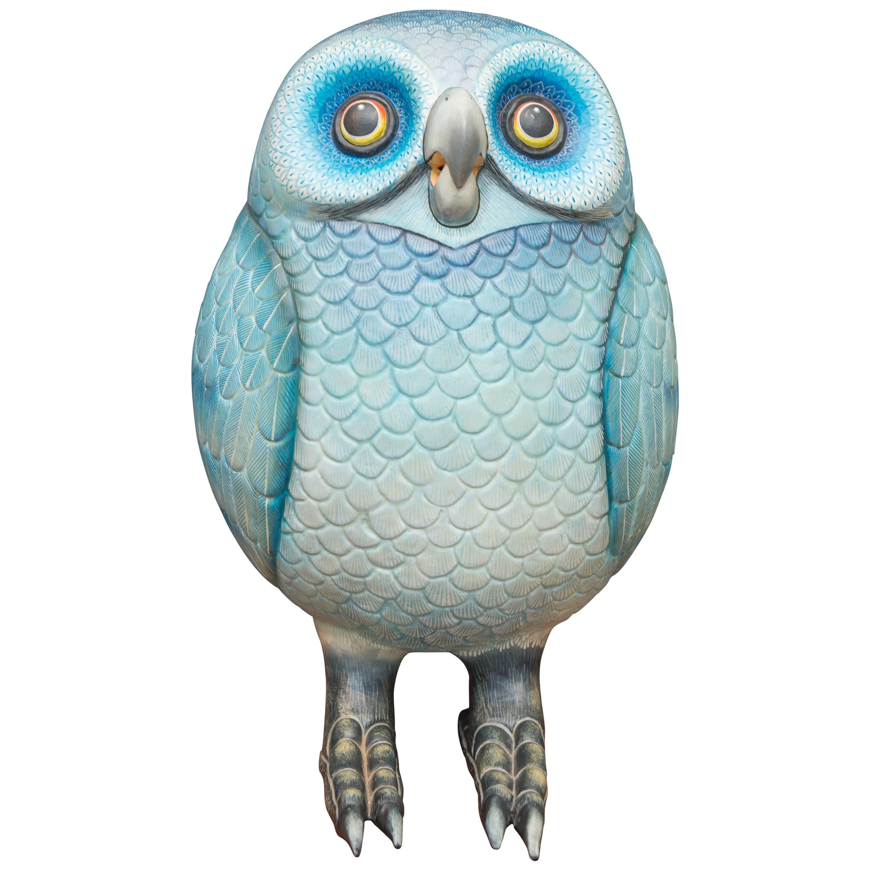 Sergio Bustamante Ceramic Owl