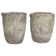 Pair of Crucible Planter