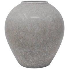 Porcelain Vase with Crackle Glaze by KPM