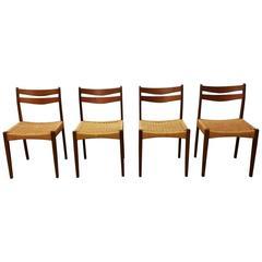 1950 Teak Arne Olsen Dining Chairs