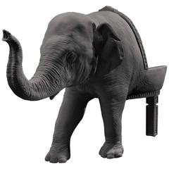 The Elephant Chair, Baby Version by Maximo Riera, Made to order, 21st Century