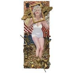 Sensational Mixed Media Homage to Marilyn Monroe