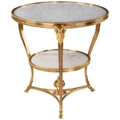 Late 19th Century French Two-Tier Gueridon