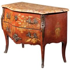 Mid-19th Century French Bombe Commode