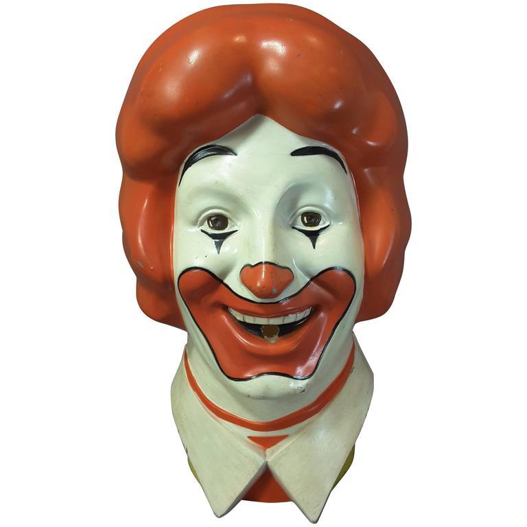 World S Most Famous Clown Quot Ronald Quot 1977 Licensed Mcdonald