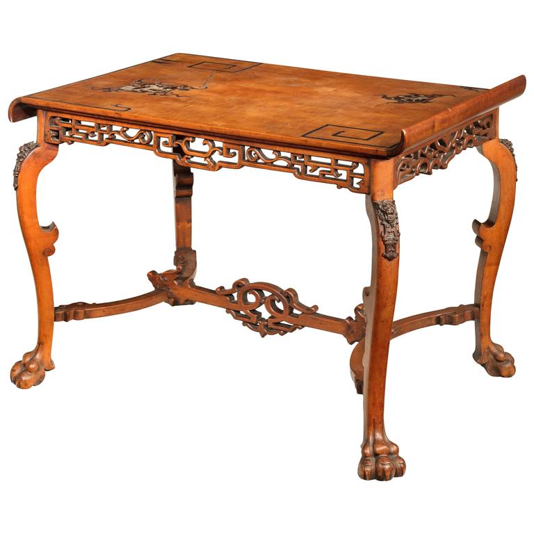 Late 19th century japonaise centre table for sale at 1stdibs for Table japonaise