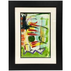 """Original Abstract Oil Painting, """" An Extension"""" By, Shana Dominguez"""